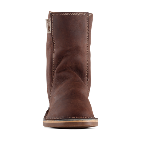 7e3a83a74ea3 Gurmuki Kudu Leather Ugg Boots - Chocolate | Buy Online in South ...