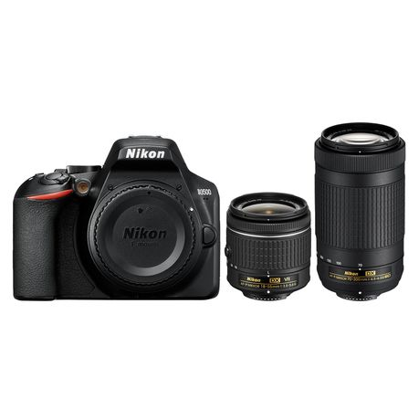 Nikon D3500 DSLR 24 1MP Twin Lens Bundle