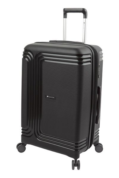Paklite Orbit 64Cm Expandable Spinner Trolley - Black