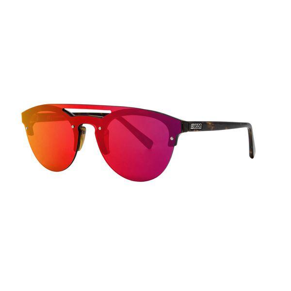 Scicon COVER Red Multimirror Lense Demi Gloss Sunglasses