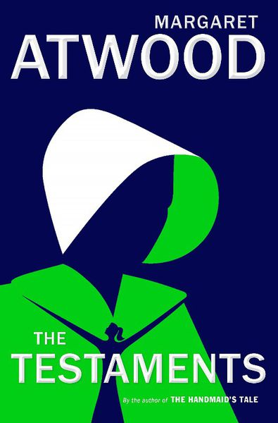 the cover of one of margaret atwood's bestselling books called the testaments