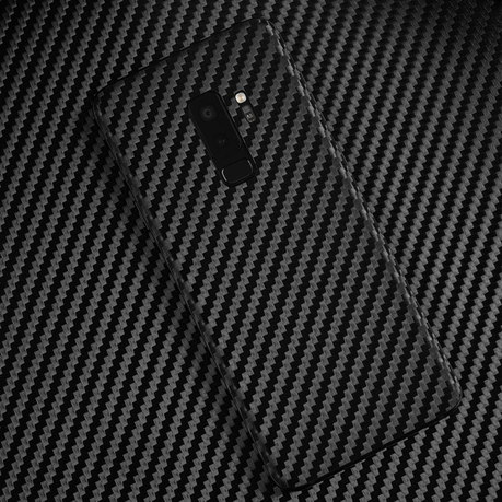 Wripwraps Black Carbon Fibre Skin Pack for Samsung Galaxy S9