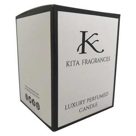 Lavender Scented Essential Oil Candle by KITA Fragrances