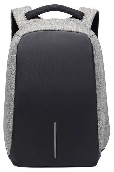 Volkano Smart Series Anti-Theft Laptop Backpack - Black/Charcoal