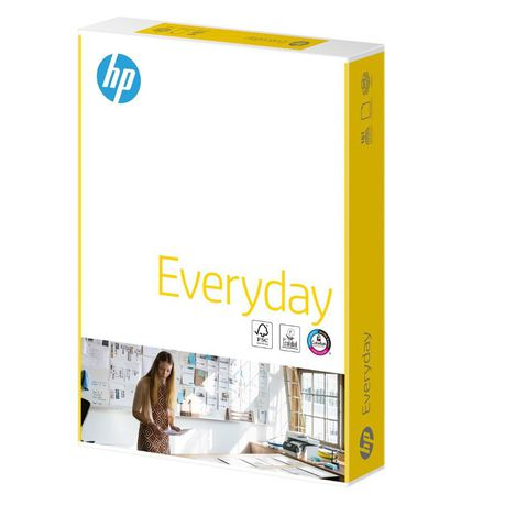 PACK Of 500 Sheets 1 REAM HP EVERYDAY A4 White Paper