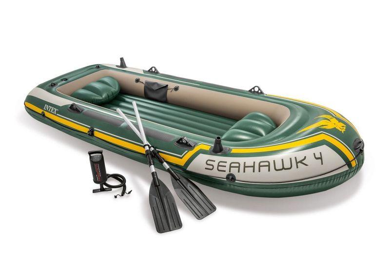 Intex Boat Seahawk 4 Set 351 x 145 x 48cm