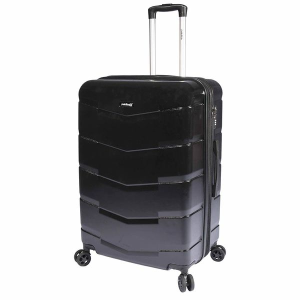 Paklite - Carbonite Large Trolley Case Spinner - Black