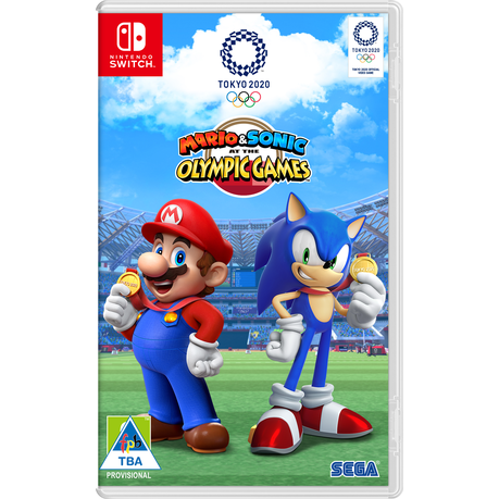 Mario Sonic At The Olympic Games Tokyo 2020 Nintendo Switch