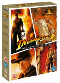 Indiana Jones: The Complete Collection (Box Set) - (Import DVD)