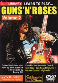Learn to Play Guns 'n' Roses: Volume 2 - (Import DVD)