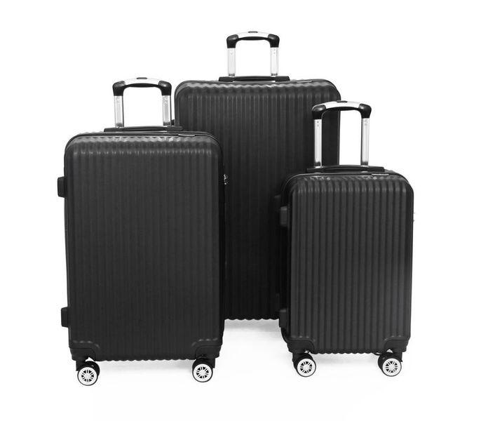 SideKick-Diamond 3pc luggage Set - Black