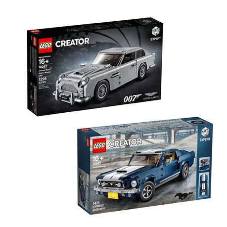 Lego Creator Expert Ford Mustang 007 Aston Martin Bundle 10262 10265 Buy Online In South Africa Takealot Com