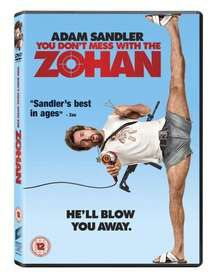 You Don't Mess With The Zohan (DVD)