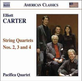 Carter:string Quartets No 2, 3, 4 - String Quartets Nos.2, 3 & 4 (CD)