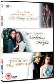 Wuthering Heights / Far from the Madding Crowd / Tess of the D'Urbervilles - (Import DVD)