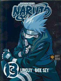 Naruto Uncut Box Set Vol 13 - (Region 1 Import DVD)