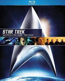 Star Trek:Motion Picture Trilogy - (Region A Import Blu-ray Disc)
