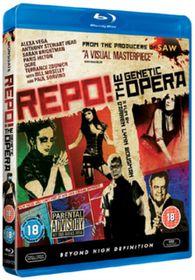 Repo! The Genetic Opera - (Import Blu-ray Disc)