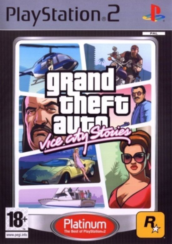Grand Theft Auto: Vice City Stories (PS2 Platinum) *EOL. Loading zoom