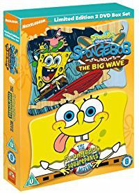 Spongebob Squarepants: Big Wave & Movie Double (DVD)
