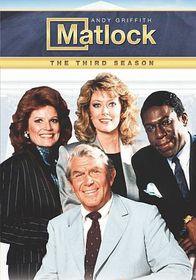 Matlock:Third Season - (Region 1 Import DVD)