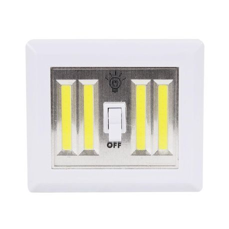 New Design 4 Cob Led Night Light Switch Wall Lamp Battery Operated Buy Online In South Africa Takealot Com