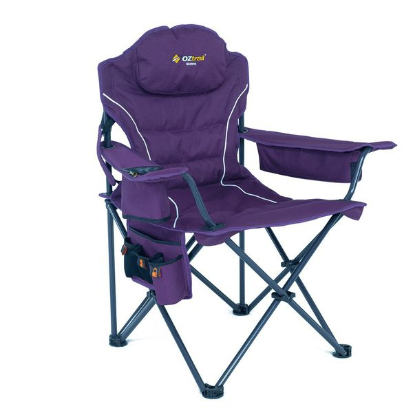 Oztrail Modena Purple Chair