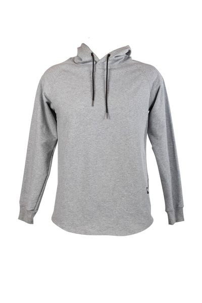 Lifting Africa- Ash Grey Fitted Hoodie Mens