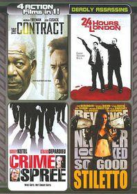 4 Films in 1:Deadly Assassins - (Region 1 Import DVD)