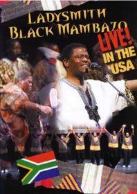 Ladysmith Black Mambazo - Live In The USA (DVD)