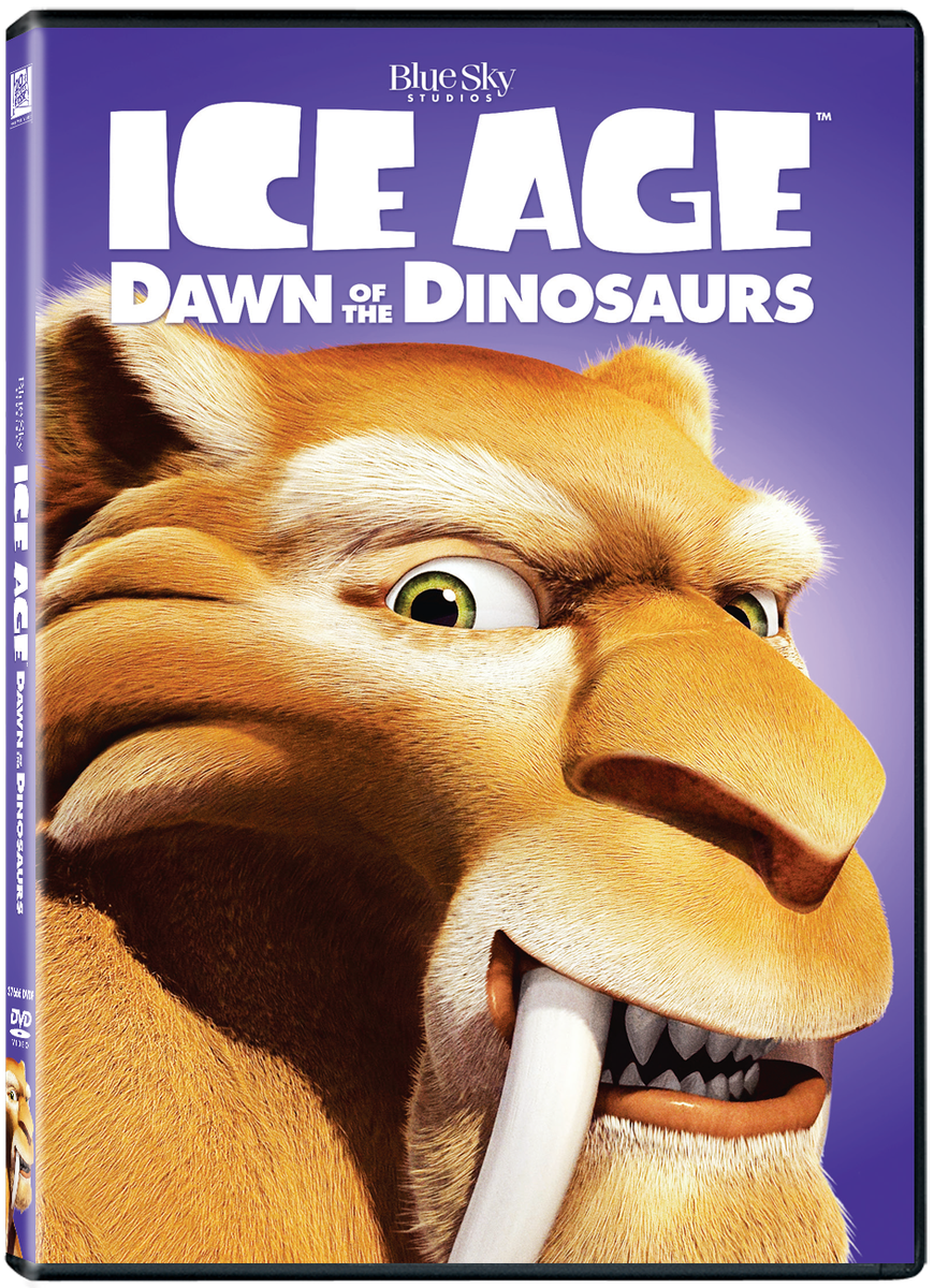 Ice Age 3 Dawn Of The Dinosaurs Ps2 Front Cover