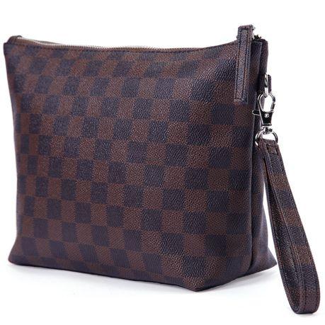 Pu Leather Makeup Bag Clutch Purse