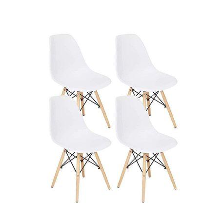 Replica Eames Side Chair Set Of 4, Eames Side Chair Replica