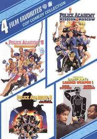 4 Film Favorites:Cop Comedy - (Region 1 Import DVD)