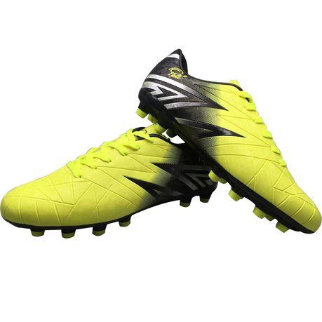 Pele Soccer Boots - Yellow \u0026 Black