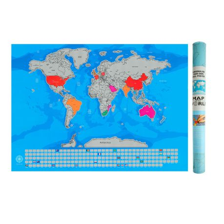 scratch map south africa Global Wanderer Scratch Off Travel World Map With Country Flags scratch map south africa