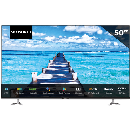 "Skyworth 50"" Android UHD 50UB7500 Infinity Screen TV 