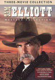 Sam Elliott Westerns Collection - (Region 1 Import DVD)
