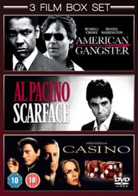 American Gangster / Scarface / Casino - (Import DVD)