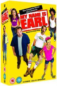 My Name Is Earl: Seasons 1-4 - (parallel import)