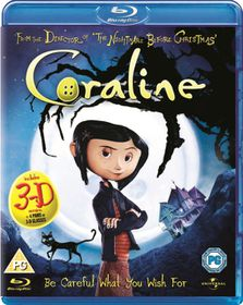 Coraline (3D) - (Import Blu-ray Disc)