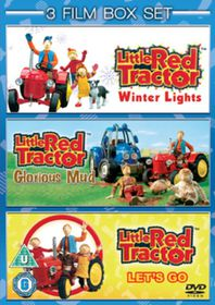 Little Red Tractor: Winter Lights / Let's Go / Glorious Mud - (Import DVD)