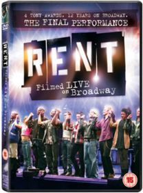 Rent: The Final Performance - Filmed Live On Broadway - (Import DVD)