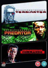 The Terminator / Predator / Commando (DVD)