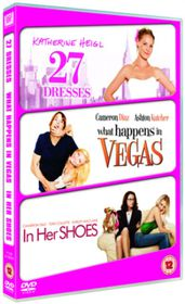 27 Dresses / What Happens in Vegas / In Her Shoes - (Import DVD)