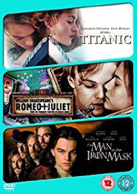 Titanic / The Man in the Iron Mask / Romeo and Juliet (DVD)