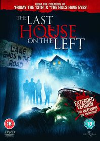 The Last House On the Left (Extended Version) - (Import DVD)