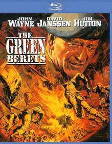 Green Berets - (Region A Import Blu-ray Disc)