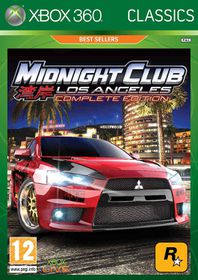 Midnight Club: Los Angeles Complete Edition (Xbox 360 Classics)