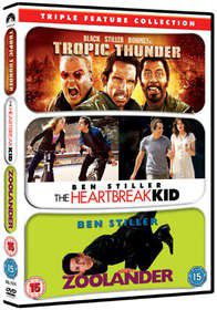 Tropic Thunder / Zoolander / The Heartbreak Kid (DVD)